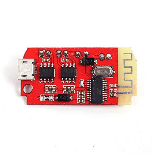 TOOGOO Ct14 Micro 5 W Mini avec Port De Charge pour R/éAssemblage Lent De Caisse De R/éSonance 4.2 Module Bluetooth pour Carte Damplificateur De Puissance St/éR/éO 5Vf 5 W