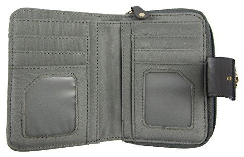 Détail Logo Moyen Wallet Clutch Métal Avant Grey Sac Dames Moose Kukubird Head q4aIXwgF