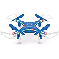Remote Contorl Drone, COOL99 X13D Drone 2.4GHz 4CH Led Mini Remote RC Quadcopter 3D Rollover Christmas Gift (Blue)