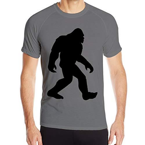 Drew Newton Sasquatch Bigfoot Classic Short-Sleeved Workout Clothes Round Neck T-Shirt Deep Heather L]()