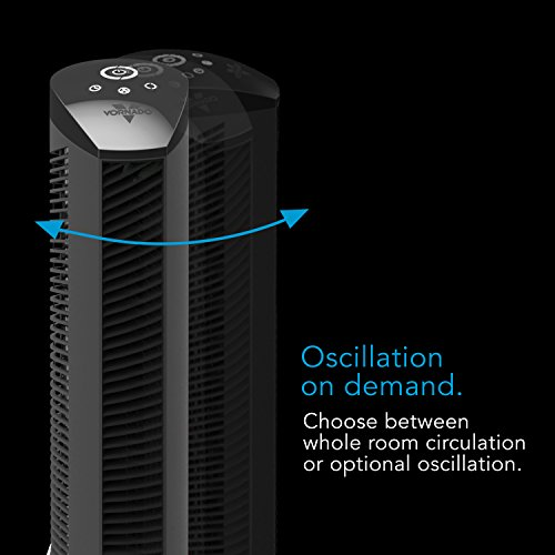 Vornado Tower Fan with Timer and Touch 37-Inch