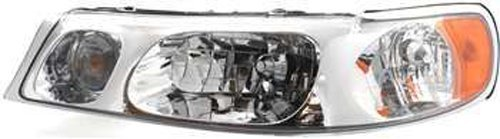 (Crash Parts Plus Left Driver Side Headlight Head Lamp for 1998-2002 Lincoln Town Car)