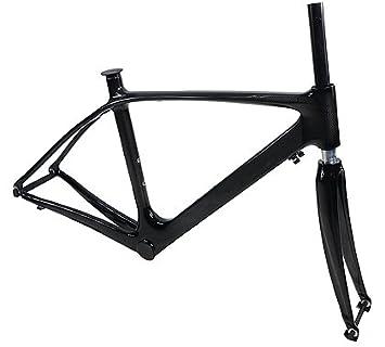 jrfoto carbon fiber 700c road bike frame and carbon fiber fork 3k weave by jrfoto rst