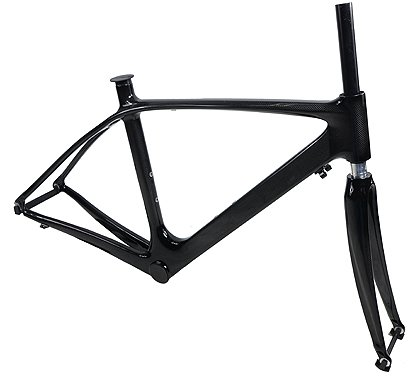 Amazon.com : JRFOTO Carbon Fiber 700C Road Bike Frame And Carbon ...