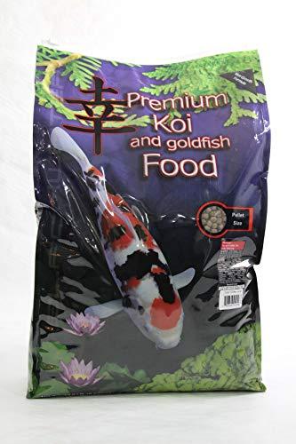 - Blackwater Premium Koi and Goldfish Food Color Enhancing Diet 12.8lb Medium Pellet