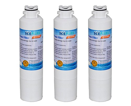 3-Pack IcePure Water Filter to Replace Samsung, Kenmore, Sears