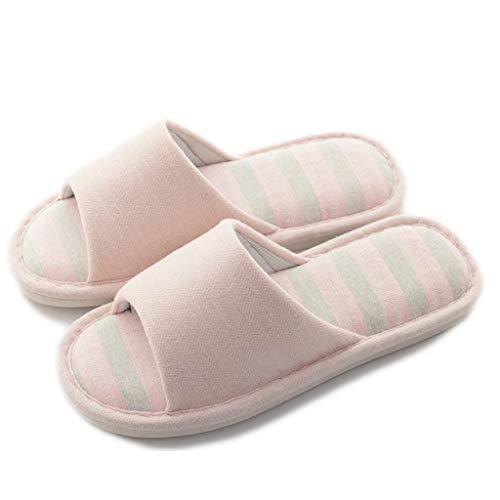 épais Pantoufles Bois avec Taille Chaussons Pink de en Couleur Pantoufles 38EU 37 des Fond AMINSHAP Bleu YnfqwS