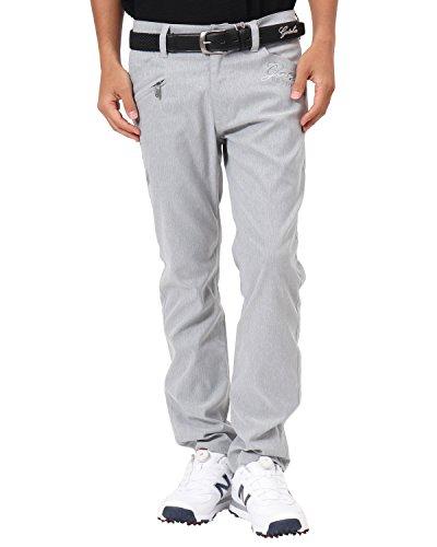[ガッチャ ゴルフ] GOTCHA GOLF パンツ 薄手 サマー ヘリンボーン ロングパンツ 182GG1806 ライトグレー XLサイズ