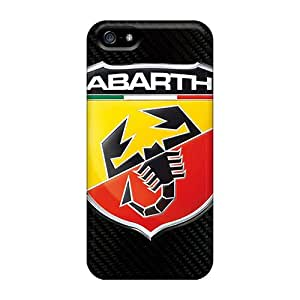 Apple Iphone 5/5s KaC1182clsv Allow Personal Design Nice Abarth Logo Pattern Best Hard Phone Cases -