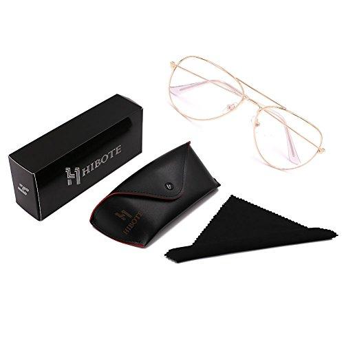 Round Full Metal Glasses Ultrathin Geek Decor Frame Men Coverage 3 ...