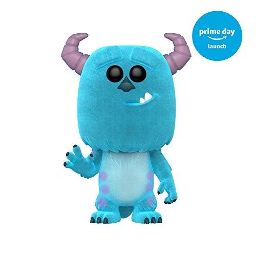 Funko Pop Disney: Monster's Inc-Flocked Sulley Amazon Exclusive Collectible Figure, Multicolor