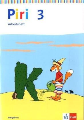 Piri - Das Sprach-Lese-Buch, Arbeitsheft 3. Schuljahr
