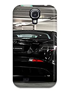 Anti-scratch And Shatterproof Mercedes Phone Case For Galaxy S4/ High Quality Tpu Case