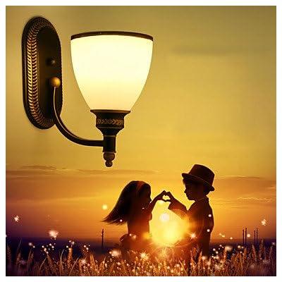 AC 100-240 60w E26/E27/Lodge rustique caractéristique de la peinture de style Mini,appliques de lumière ambiante lumière Mur