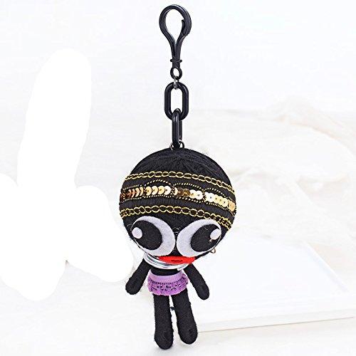 Voodoo Doll Demons Monsters Evil Bag Pendant Hand-made Wo...