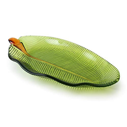 Leaf Glass Platter - 2