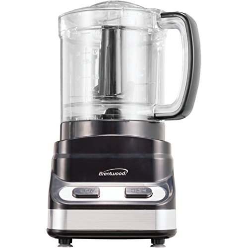 Brentwood Mini Appliances FP-547 3-Cup Food Processor, Black