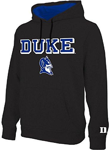 NCAA Duke Blue Devils Black Embroidered College Classic Hoodie Sweatshirt (L=44)