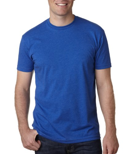 Next Level Mens Premium CVC Crew(N6210)-ROYAL-2XL