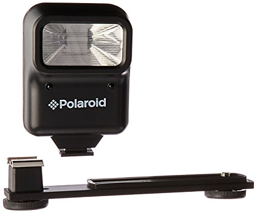 Pro Flash Bracket (Polaroid Studio Series Pro Slave Flash Includes Mounting Bracket)