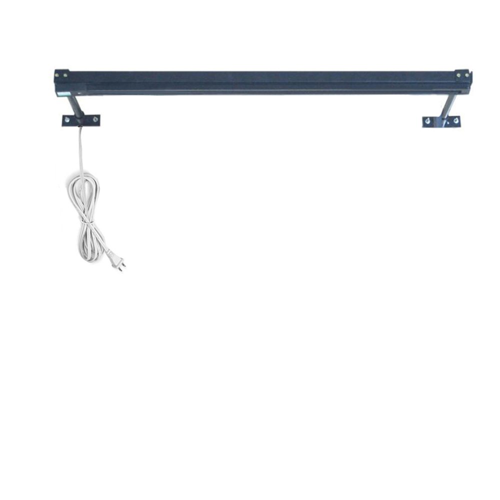 Kiven Plug in Black Linear Track Lighting Section, Black