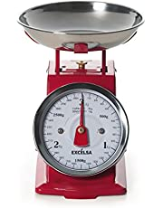 Offerte speciali su Excèlsa 39982 Bilancia Vintage, Rossa, 3 Kg/10 g e molto altro