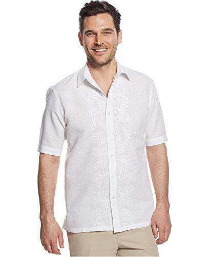 Embroidered Short Sleeve Work Shirt - 7