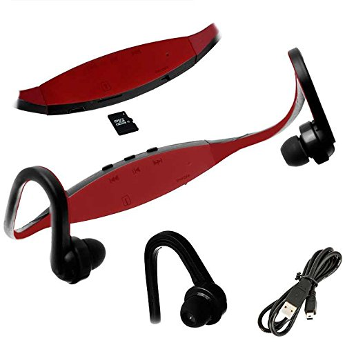 Auriculares Reproductor MP3 Deportivos Sin Cables Micro SD USB ...