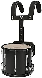 sound percussion labs marching snare drum with carrier 13 x 11 in black musical. Black Bedroom Furniture Sets. Home Design Ideas