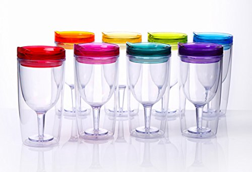 Cupture Insulated Wine Tumbler Drink Through product image