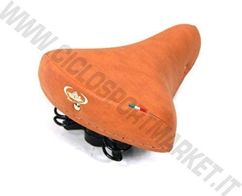 Holland // Old-Time Tasche Fahrrad Graziella Sattel Montegrappa Federn R