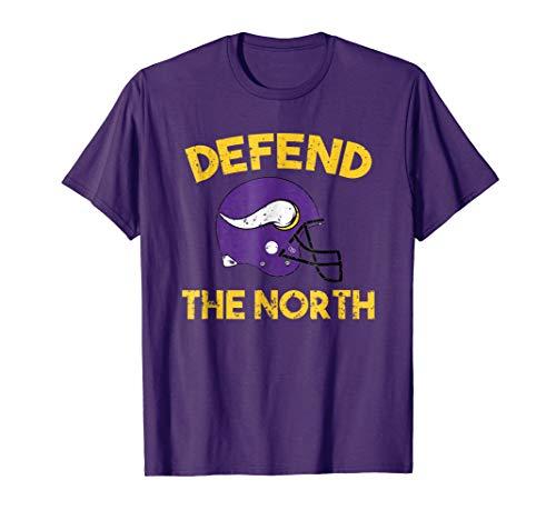 Minnesota Defend The North - Viking T-Shirt -