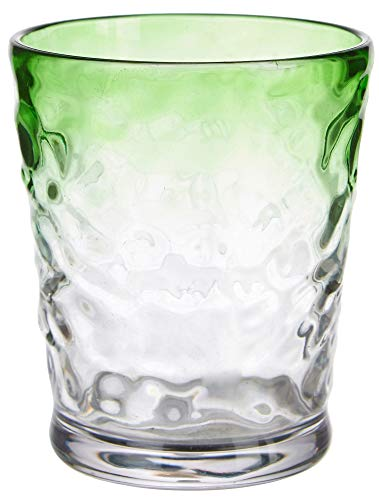 Tropix 14 oz. Lime Ombre Double Old Fashioned Glass One Size Lime ()