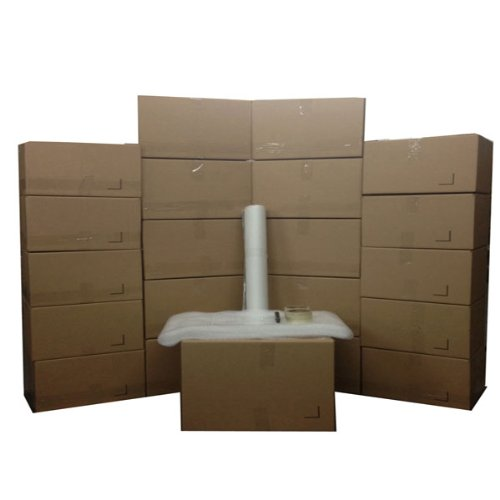 The Boxery Moving Boxes And Supplies Kit #2 - 20 Total Movin