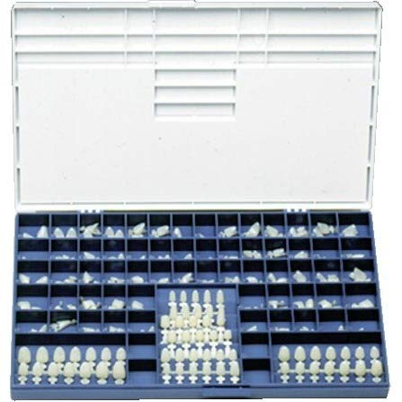 3M C180 Espe Permanent Anterior Crown Set, Lower and Upper, Polycarbonate Resin, Lower and Upper