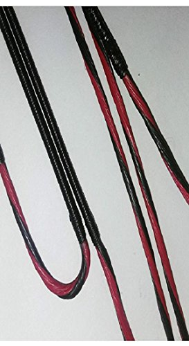 Trophy Bound Diamond Edge SB1 Compound Bow String & Cable Set (Black/red)