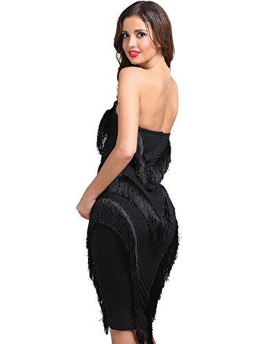 Adyce sexy kleid schwarze rhre midi club verband kleid tragen ...
