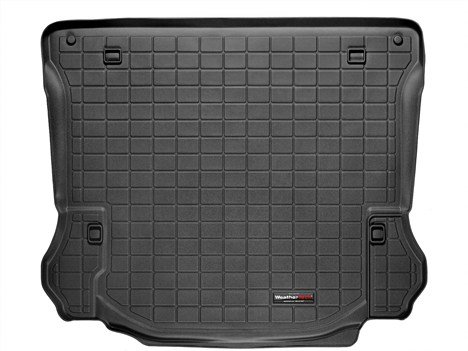 2011-2014 Jeep Wrangler Unlimited WeatherTech Cargo Liner (Black)