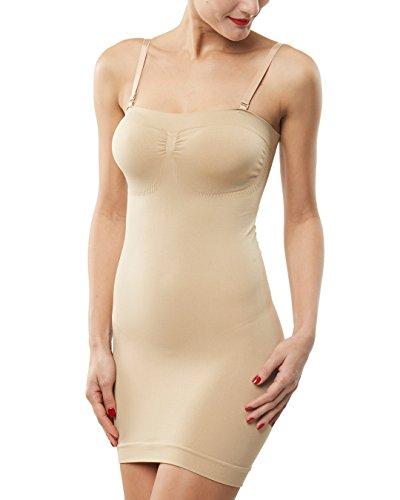 Belugue Women's Control Slip Shapers Shapewear Dress Full Body Shaper