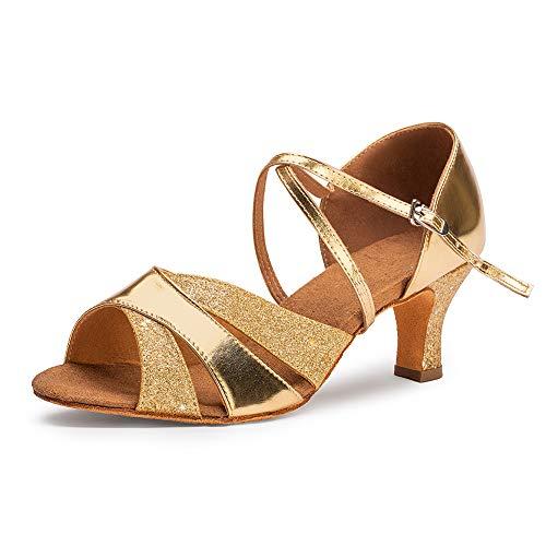 (Dress First Ballroom Dance Shoes Women 2.68