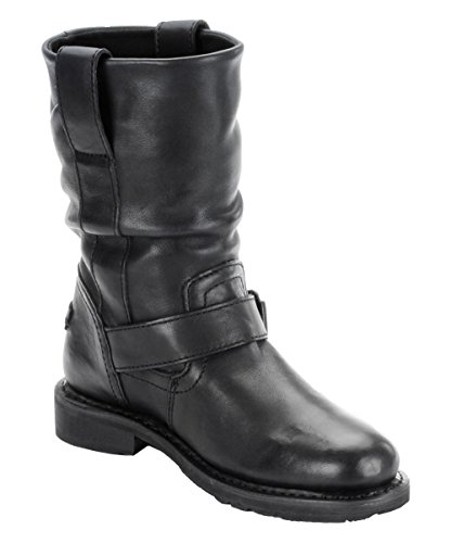 Harley Black Boots On Darice Boot Biker Original Leather Slip Ladies Davidson rzzqwtR