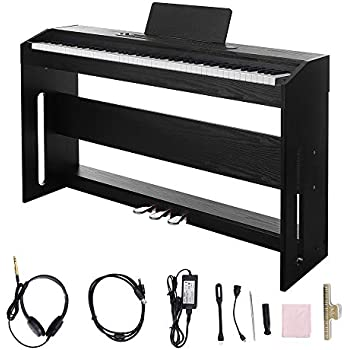 Amazon Com Digital Piano Les Ailes De La Voix 88 Key