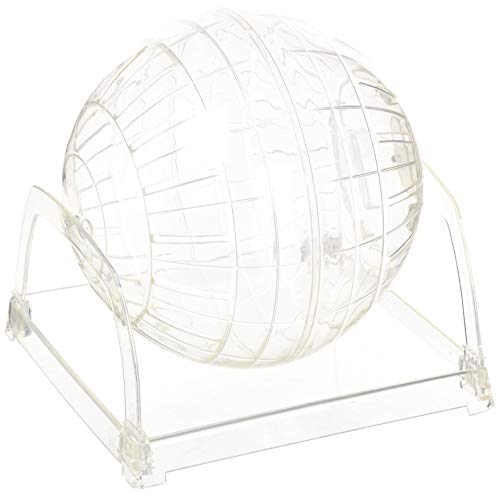 (Living World Plastic Hamster Exercise Ball with Stand, 6-3/5-Inch )
