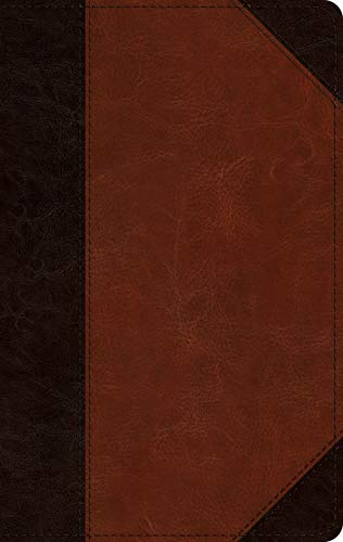 - The Holy Bible: English Standard Version,  Single Column, Thinline Bible, Trutone, Brown/Cordovan, Portfolio Design