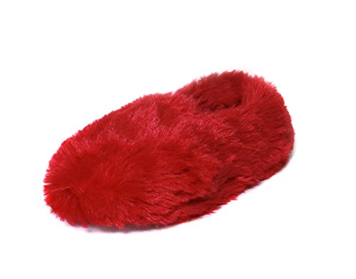 pour Chaussons Red pour Chaussons Red Femme Onmygogo Femme Chaussons Onmygogo Onmygogo 1Pw8n76xpq