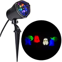 Star Wars Yoda, Darth Vader, R2D2 LightShow Swirling Multicolor LED Christmas Spotlight Projector by whirl motion