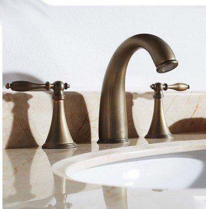 HL - die Einheitlichen Europäischen retro Kupfer imitation imitation imitation Köln Kopf Becken Becken Becken drei mit kaltem und heißem Wasser, Retro Farbe 9e4070