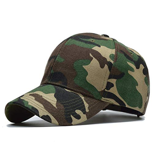 Nimdhfsa Snow Camo Baseball Cap Men Tactical Cap Camouflage Hat for Men Bone Dad Hat Trucker A Style Army - Mens Mesh Ventilator Cap