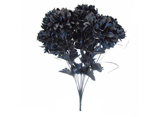 Phoenix Silk Chrysanthemum Mum Ball Bush 10 Artificial Silk Flowers 19
