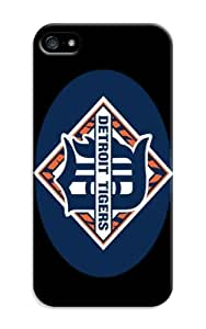 Customizable Baseball of Detroit Tigers honey hard Teeth case with iphone 5c in logo background
